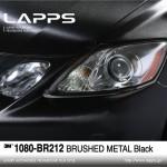 1080-BR212 Brushed Metal Black