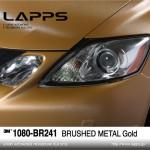 1080-BR241 Brushed Metal Gold