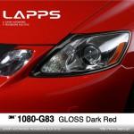 1080-G83 Gloss Dark Red