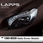 1080-M209 Matte Brown Metallic