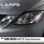 1080-M230 Matte Gray Aluminum