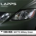 1080-M26 Matte Military Green